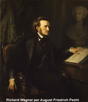August Friedrich Pecht, Portrait of Richard Wagner