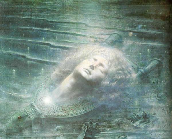 Orphée par Jean Delville