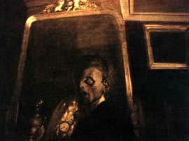 Le symbolisme les angoisses du moi for Autoportrait miroir
